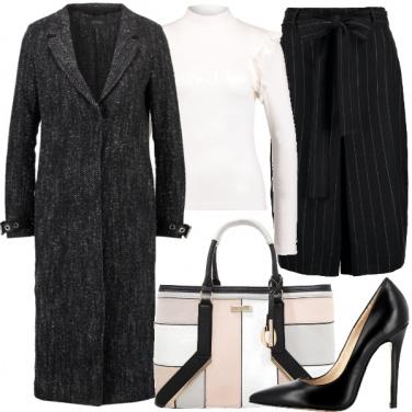 Outfit Righe e spighe