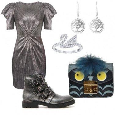 Outfit Primo appuntamento spiritoso