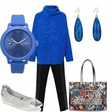 Outfit Total blu