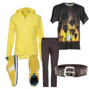 Outfit Tracce di giallo