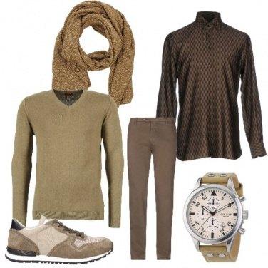 Outfit Gradazioni di marrone