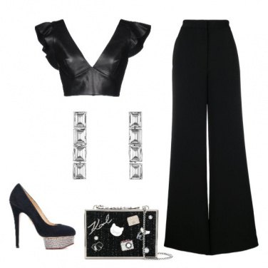 Outfit Altissima magrissima (total black)