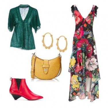 Outfit Romanticismo a colori