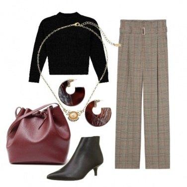 Outfit Maglioncino e pantaloni
