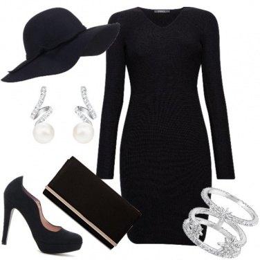 Outfit Total black Con gli accessori giusti