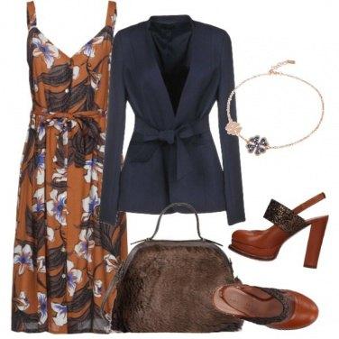 Outfit Blazer con cintura