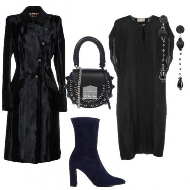 Outfit Lady in black