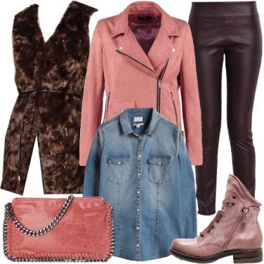 Outfit Cioccolato rock