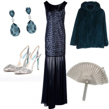 Outfit La borsa a ventaglio