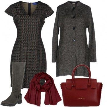 Outfit Accessori bordeaux