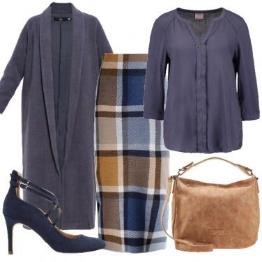 Outfit Longuette e camicia