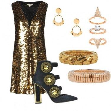 Outfit Oro, oro, oro