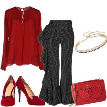 Outfit Il pantalone spagnoleggiante