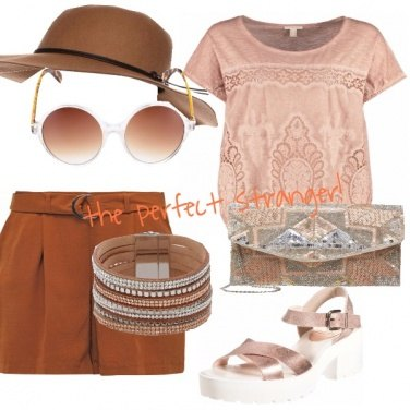 Outfit Summer in copper!