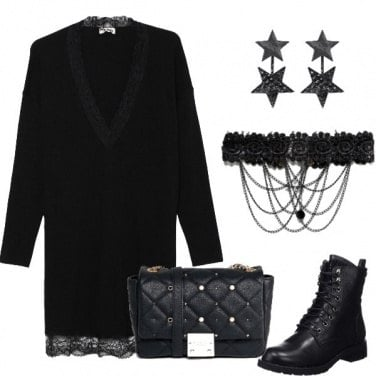 Outfit Dark lady trendy