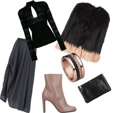 Outfit Black pink