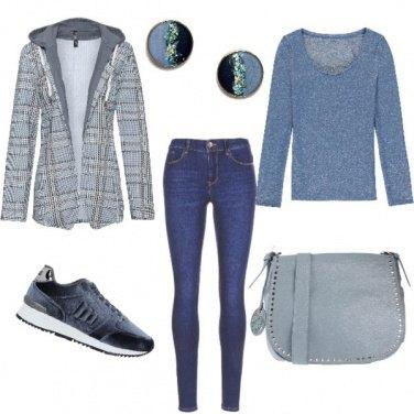 Outfit La giacca felpa