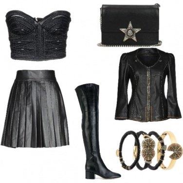 Outfit Pelle.. Mon amour
