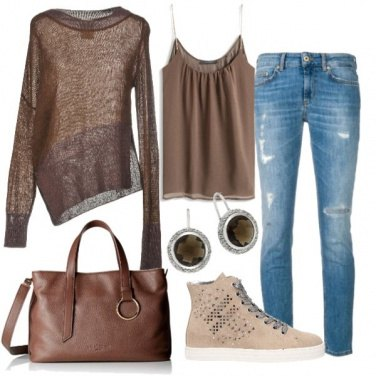 Outfit Brown coffe