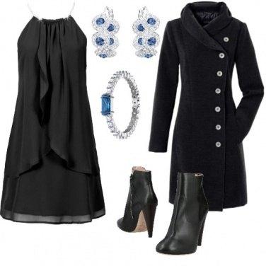 Outfit Royal blu