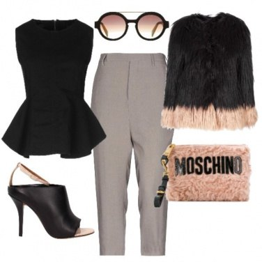 Outfit Glamour pink&black