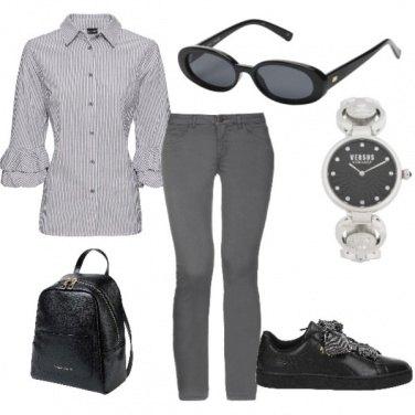 Outfit Grigio milano