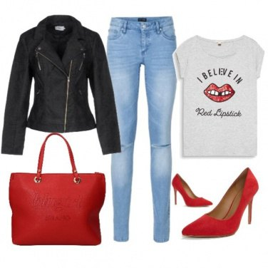 Outfit Casual rock