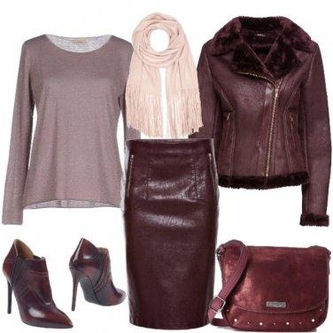 Outfit Fantasia bordeaux