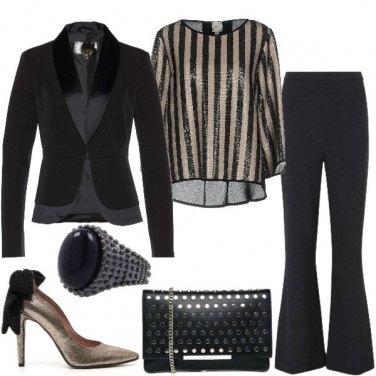 Outfit Paillettes e luci