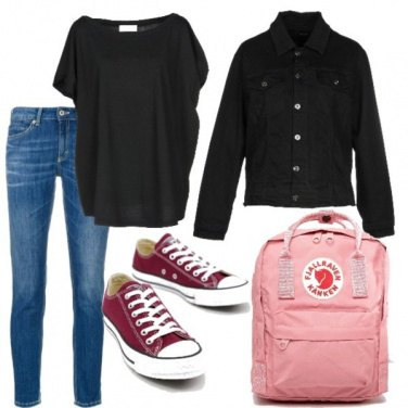 Outfit Scuola cool