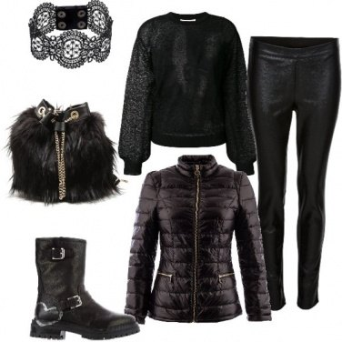 Outfit Total dark