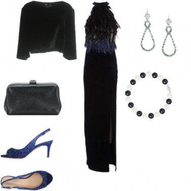 Outfit Sexy, serata in velluto