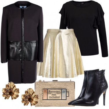 Outfit Inverno dorato