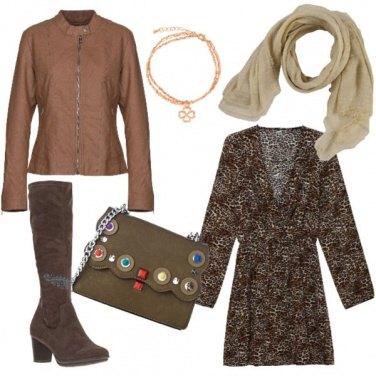 Outfit I colori del cioccolato