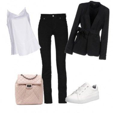 Outfit Comoda ma elegante