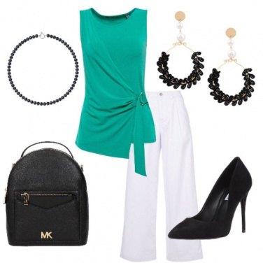 Outfit Elegante, ma rock