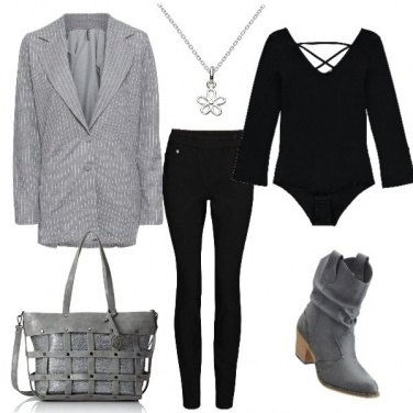Outfit Giacca oversize