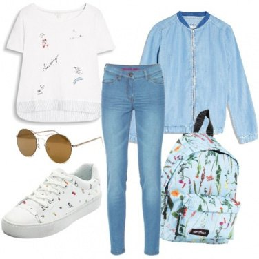 Outfit \'90s school