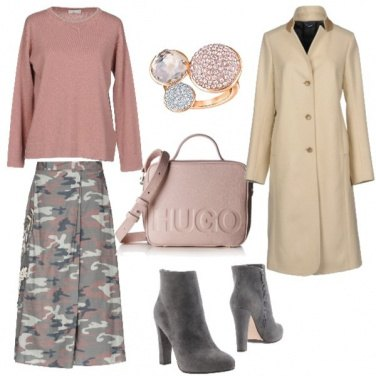 Outfit Rosa per donne forti