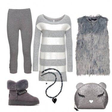 Outfit Grigio artico