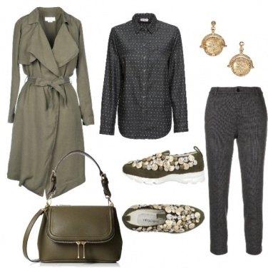 Outfit Medaglie e bottoni