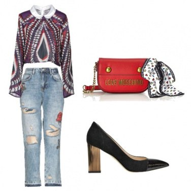 Outfit Jeans con stile