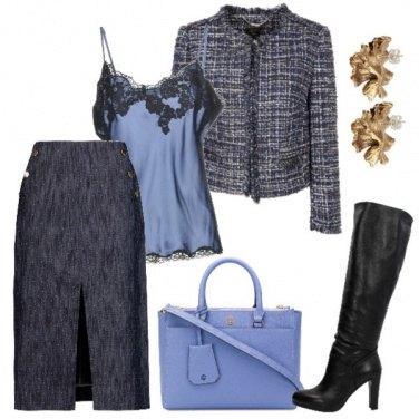 Outfit La borsa azzurra