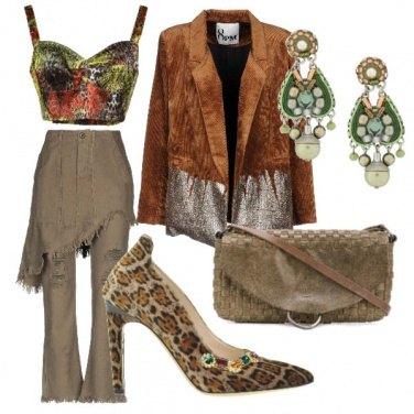 Outfit Selvaggia con stile