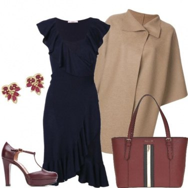 Outfit Mantella color cammello