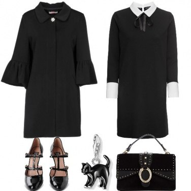 Outfit Mercoledì Addams