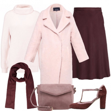 Outfit Vino rosa