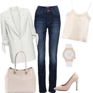 Outfit Blazer bianco