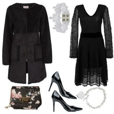 Outfit TSK La borsa con le rose
