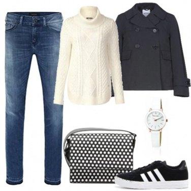 Outfit Quadrante bianco
